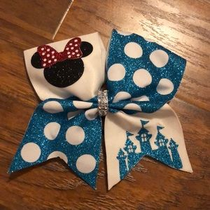 Disney Minnie Mouse Cheerleading Bow